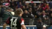 گل های بازی فرانکفورت 2-0 دورتموند