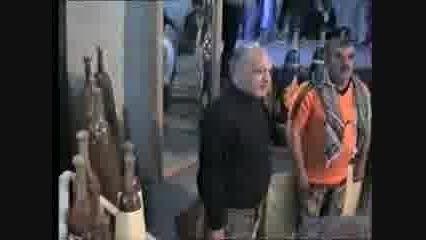 پهلوان علیرضاسلیمانی در زورخانه ای پوریایی ولی دانسفهان
