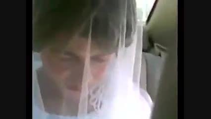 فرار یک داعشی با لباس عروس ! + فیلم