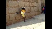 بالا رفتن از دیوار