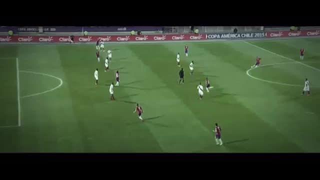 خلاصه بازی : شیلی 2 - 1 پرو (کوپا آمریکا)