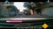 تعقیب و گریز خودرو مسروقه توسط پلیس در ایران