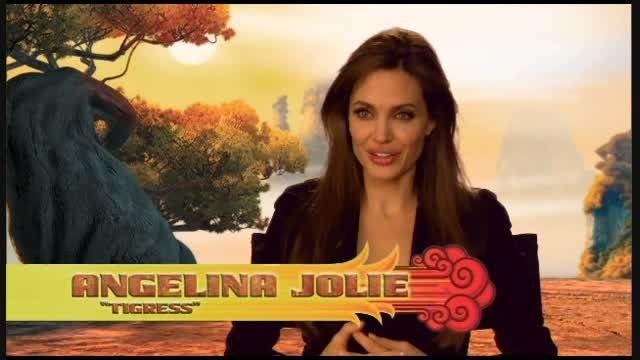 صداگذاری آنجلینا جولی برای ببری(پاندای کونگ فوکار)