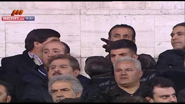 حضور ستارگان پیشکسوت پرسپولیس در بازی با لخویا