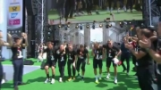 خوشحالی آلمانی ها بعد از قهرمانی جام جهانی در برلین