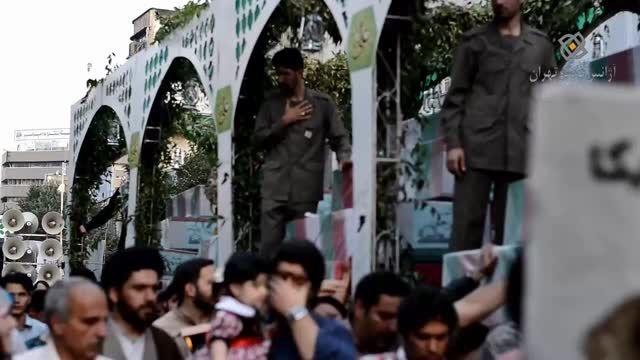 تشییع پیکر 270 شهید دفاع مقدس در تهران