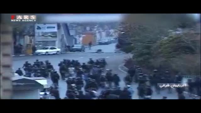 گزارش تلویزیون از اعتراض به توهین فیتیله