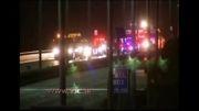 آتش سوزی خودرو در کالیفرنیا