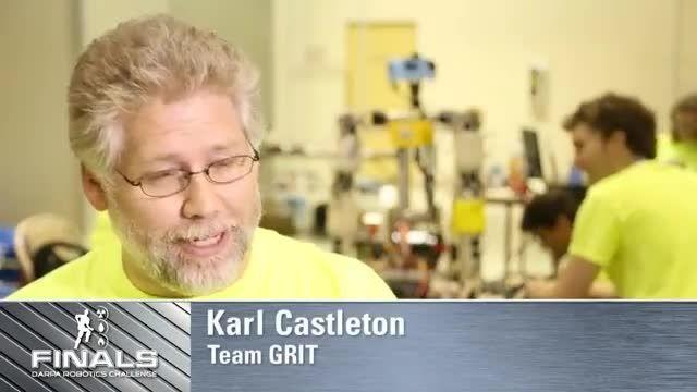 تیم Grit در مسابقات رباتیک دارپا