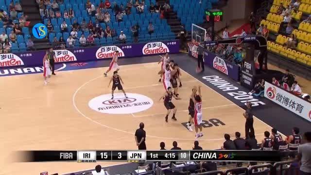 سومی ایران در بسکتبال قهرمانی آسیا، ایران 68 ژاپن63