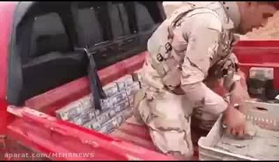 کشف خودرو حامل پول برای داعش در عراق