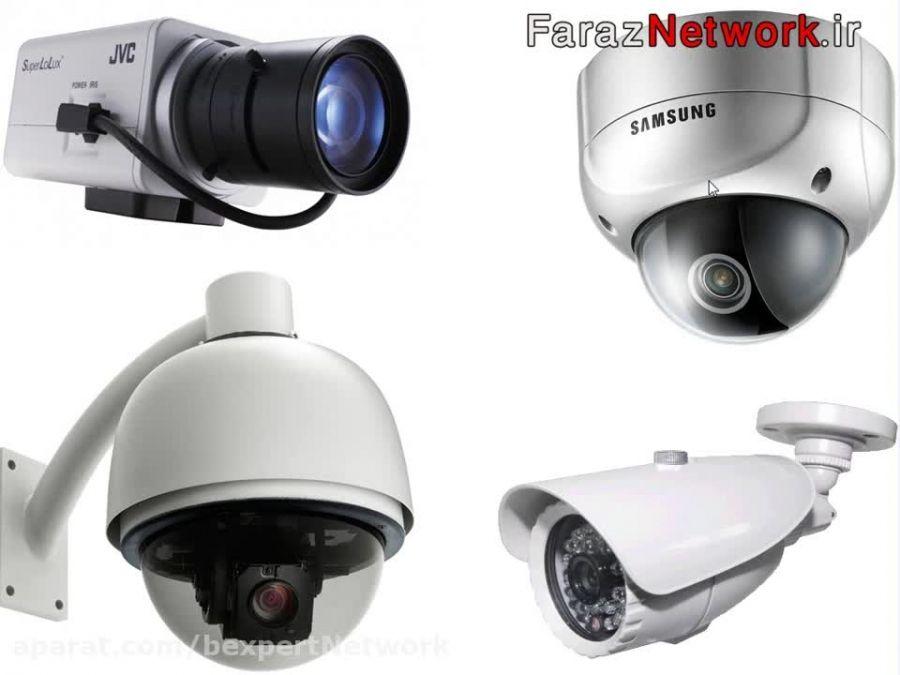 دوربین های مداربسته ولوازم جانبی لنز ها و نحوه تنظیمات