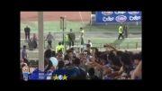 ورود فرهاد مجیدی به ورزشگاه ازادی(بازی استقلال و ملوان)