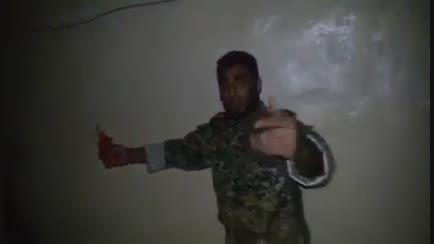 خنثی سازی تله انفجاری داعش