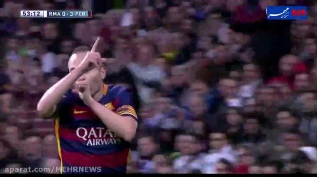 چگونه بارسا در مادرید، رئال را در هم کوبید