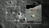 بقایای آپولوها روی ماه