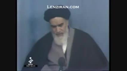 نظر امام خمینی (ره) درباره کارتر و تهدیدهای امریکا