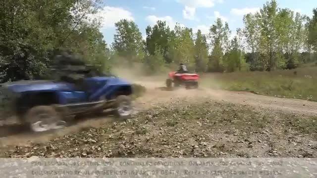 موتورسیکلت های چهارچرخی که به جت اسکی تبدیل می شوند