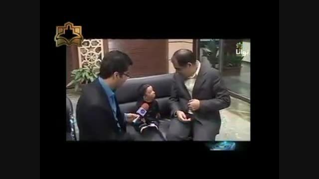 درخواست کوچیکترین مرد دنیا از دکتر هاشمی وزیر بهداشت