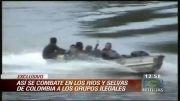 درگیری پلیس کلمبیا با گروه های مسلح قاچاقچی مواد مخدر