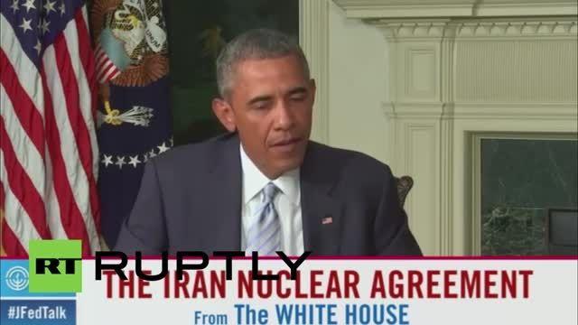 اوباما : رد توافق هسته ای همدردی بزرگ جامعه جهانی