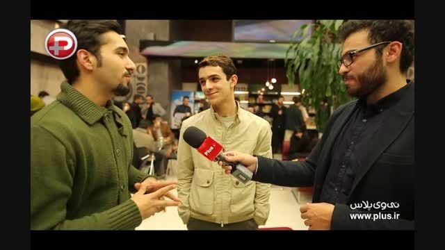 علی شادمان:به شهاب حسینی می گویم داداش،به همسرش مامان!