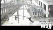 مرگ 4 کارگر بر اثر برخورد داربست با خطوط برق فشارقوی