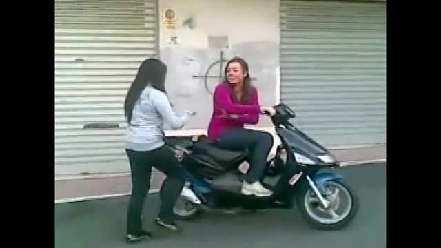 دختران خوشگل موتور سوار