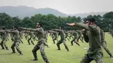 رزمایش بزرگ نظامی در کره جنوبی