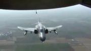 لحظه سقوط هواپیما توپولوف ایرانی