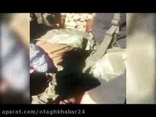 جسد خلبان کشته شده روسی