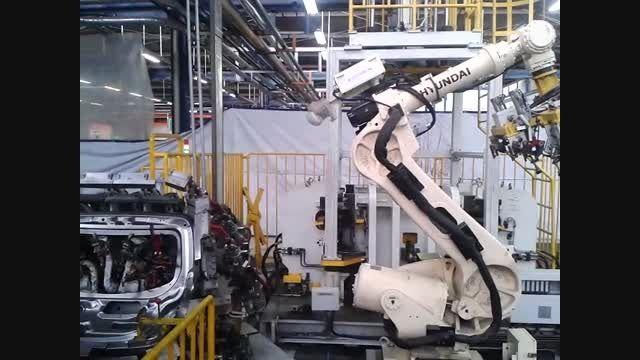 بازوی رباتیک هیوندای شرکت خودروسازی