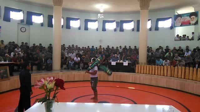 میل آقای مهدی برزویی در مسابقات قهرمانی میل سنگین ایران