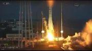 انفجار راکت فضایی Antares چند ثانیه پس از پرتاب