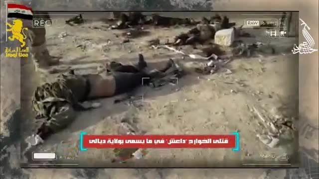 گوشه ای از پاسخ کوبنده مردم عراق به جنایات داعش