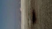خشک شدن دریاچه ارومیه طوفانهای نمکی در راه هستند.