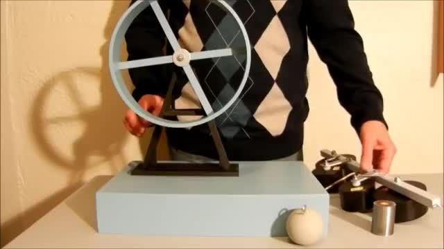چرخ پل .دستگاهی که انرژی رایگان تولید میکند.