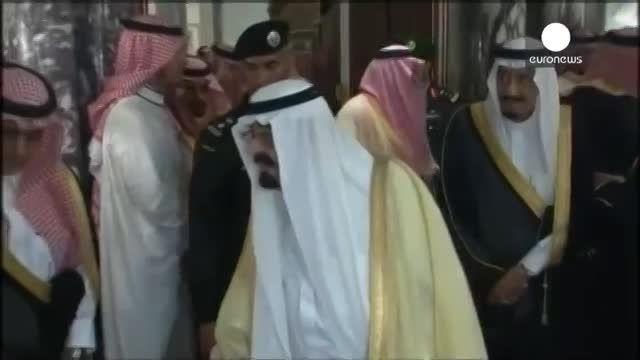 فیلم مرگ ملک عبدالله بادشاه عربستان