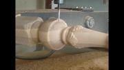 دستگاه CNC هشت کله چهار محور همزمان منبت کاری چوب