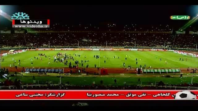 عجیب ترین جشن نایب قهرمانی لیگ برتر !