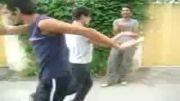 رقص سه نفره از سه جوان شایسته ایرانی :دی