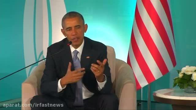 اوباما در ترکیه : حمله به پاریس حمله به بشریت بود