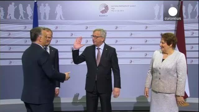 شوخی غیر عادی رییس کمیسیون اروپا با نخست وزیر مجارستان