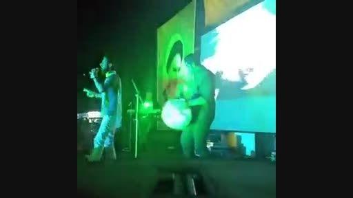 تکه های از اجرای زنده حامد زمانی در کاشان