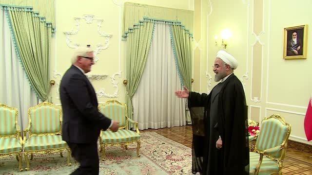 دیدار دکتر روحانی با وزیر امو خارجه آلمان