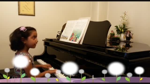 پیانو کودک-عید نوروز-نگار بیدکی-آوای پیانو