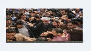 شعر جالب دکتر رحیم زارع نماینده آباده در وصف روحانی در مجلس