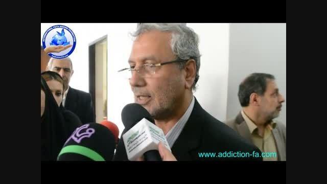 وزیر کار و رفاه در نهمین همایش دانش اعتیاد