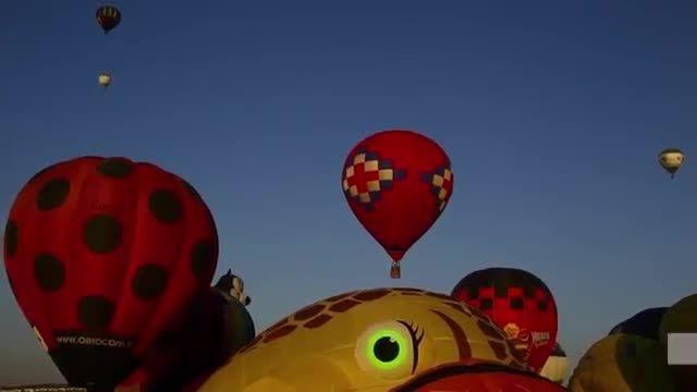 فستیوال بین المللی بالن ها در مکزیک