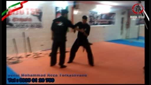 آموزشی دفاع شخصی و درگیری با چاقو سنسی ترکاشوند 2